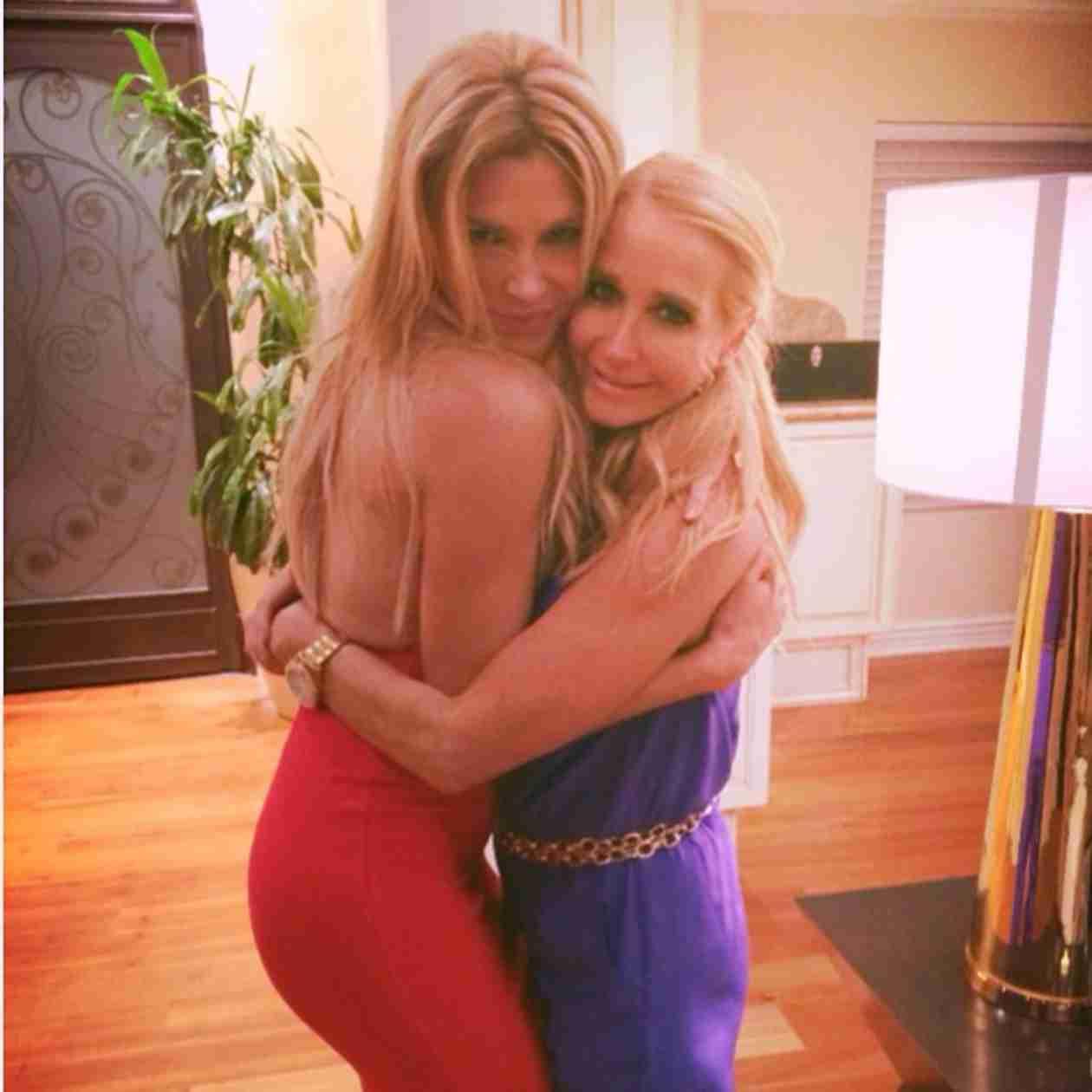 Kim Richards Looks Healthy After Hospital Stay, Bonds With Brandi Glanville