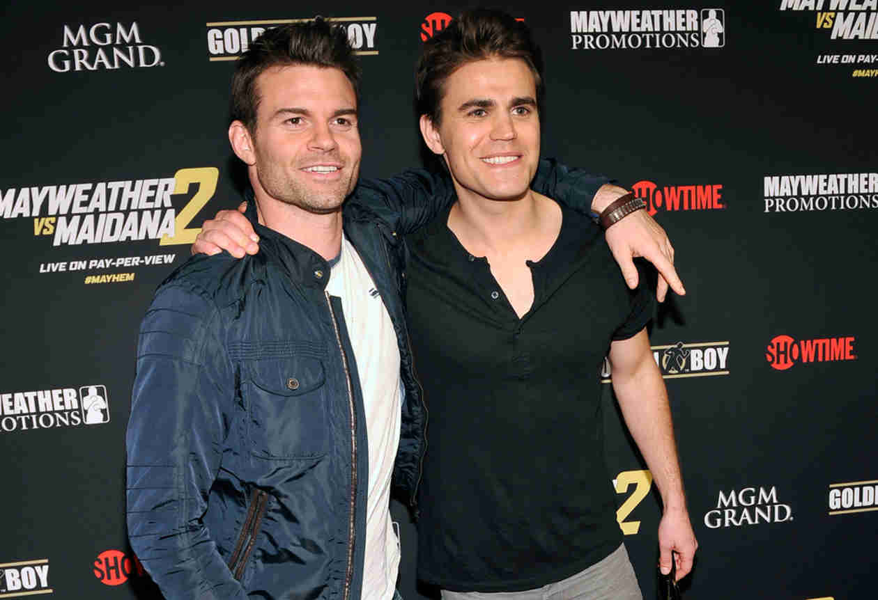 Instagram Daniel Gillies Paul Wesley And Daniel Gillies