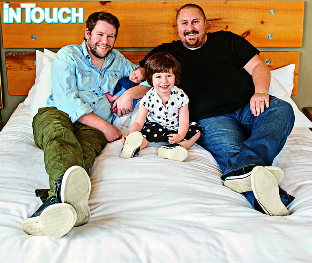 The Guncles Bill Horn and Scout Masterson Introduce Son Bosley Jo! (PHOTO)