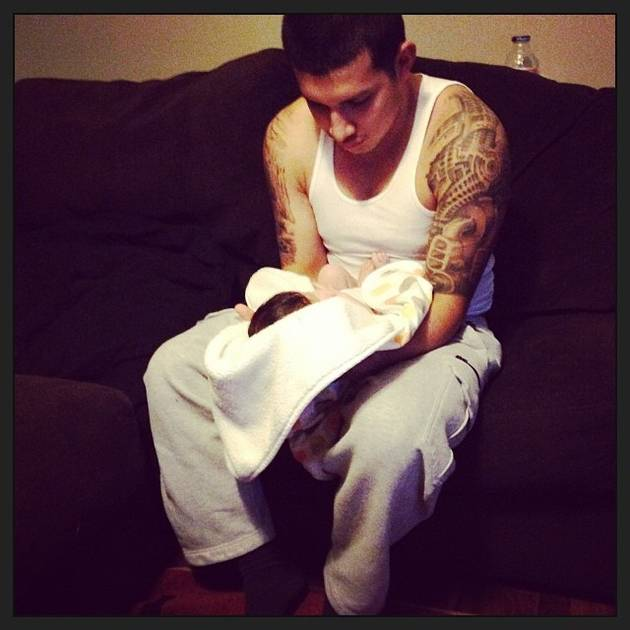Javi Marroquin Adds to His Lion Pride Tattoo! (PHOTO)