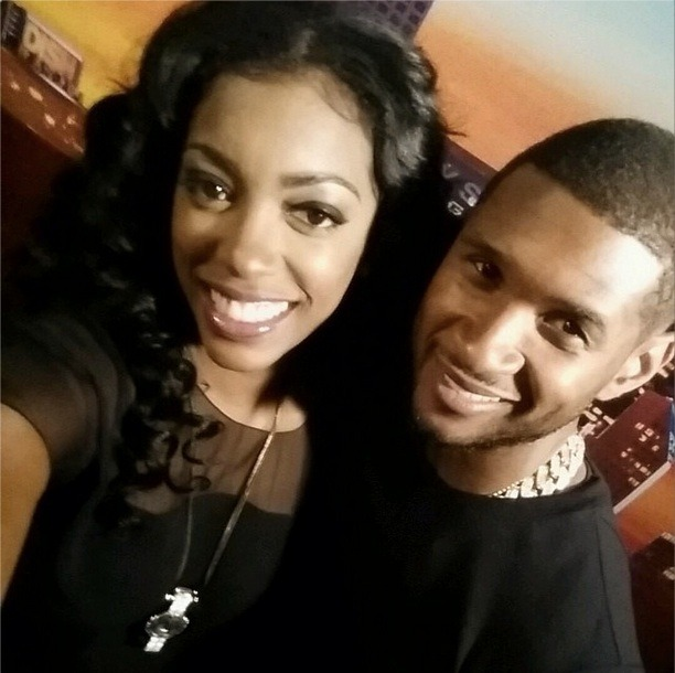 Porsha Stewart Snaps a Selfie With Usher (PHOTO)