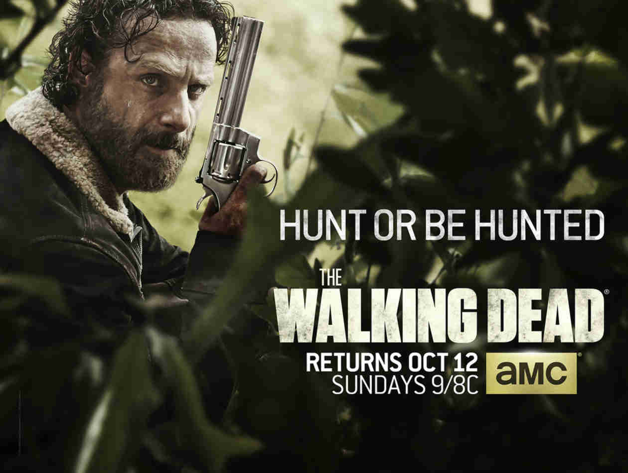 "What Does The Walking Dead Season 5's ""Hunt or Be Hunted"" Poster Tell Us?"