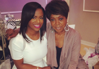 Kandi Burruss and Sharon Tucker