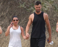 EXCLUSIVE: Lea Michele and her new boyfriend Matthew Paetz go on a hike with some friends in Los Angeles