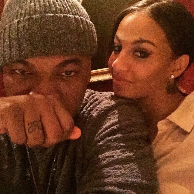 Ne-Yo and Girlfriend Sport Tattoos With Each Other's Initials on Ring Fingers (PHOTO)