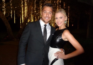 Whitney Bischoff and Chris Soules