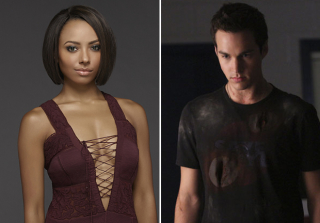 Bonnie and Kai on Season 6 of The Vampire Diaries