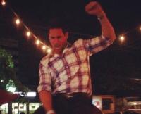 Josh Murray Rides a Bull