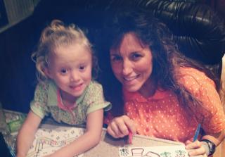 Michelle Duggar and Daughter Josie