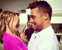 Chris Soules And His Niece