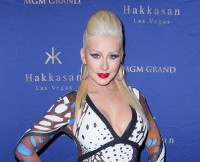 Christina Aguilera at Hakkasan Nightclub's 2nd Year Anniversary Party in Las Vegas