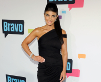 Teresa Giudice at the 2013 Bravo New York Upfront