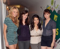 "MTV TRL Presents The Cast Of ""The Sisterhood Of The Traveling Pants 2"""
