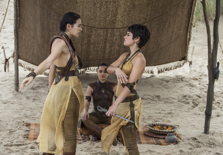 Fighting Sand Snakes