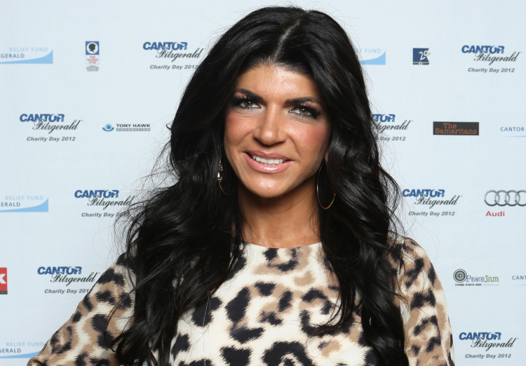 Teresa Giudice on September 11, 2012
