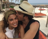 Nikki Reed and Ian Somerhalder on Honeymoon in Mexico