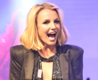Britney Spears at Britney Day, November 2014