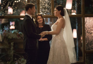 """Alaric and Jo Get Married in Season 6, Episode 21 (I'll Wed You in the Golden Summertime"""") of The Vampire Diaries"""