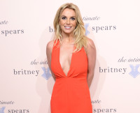 Britney Spears Hosts Exclusive Unveiling  of Signature Sleepwear Line, September 2014