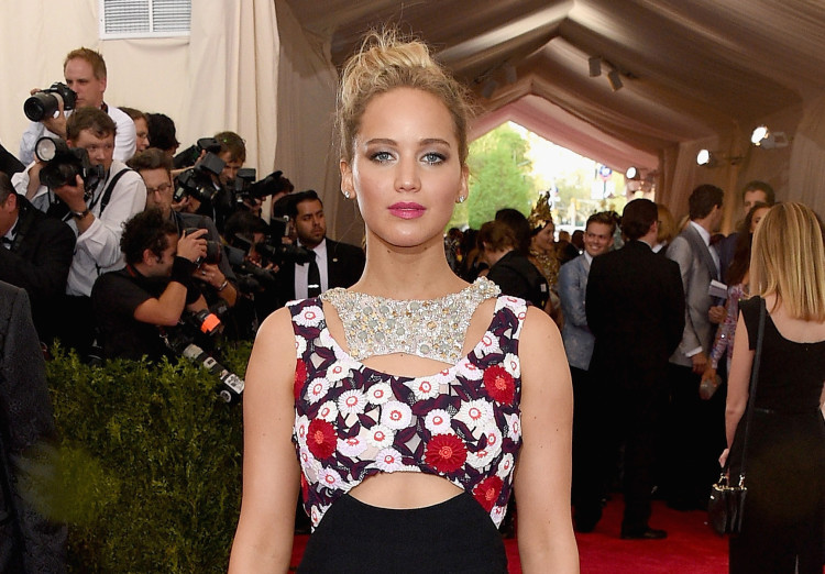 Jennifer Lawrence in Dior Couture