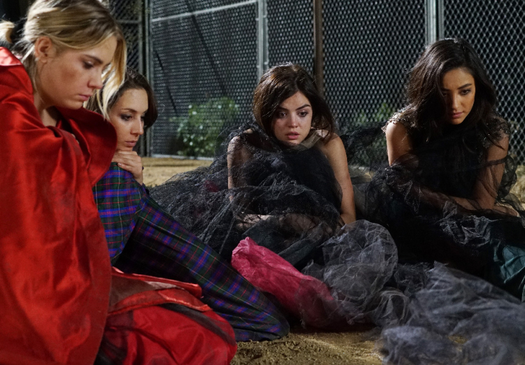 The Liars on PLL Season 6 Premiere