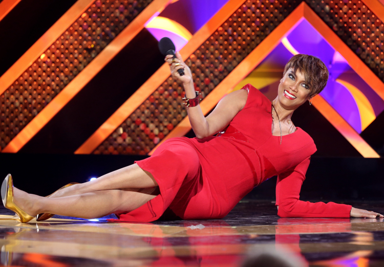 Tyra Banks Hosting the 42nd Annual Daytime Emmy Awards