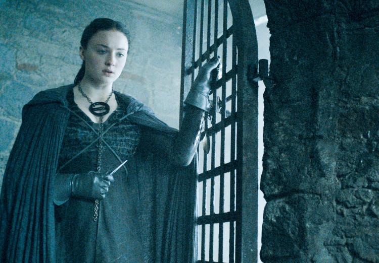 Sansa on Game of Thrones Season 5, Episode 5