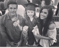Chelsea Houska's Daughter Aubree Graduates Preschool