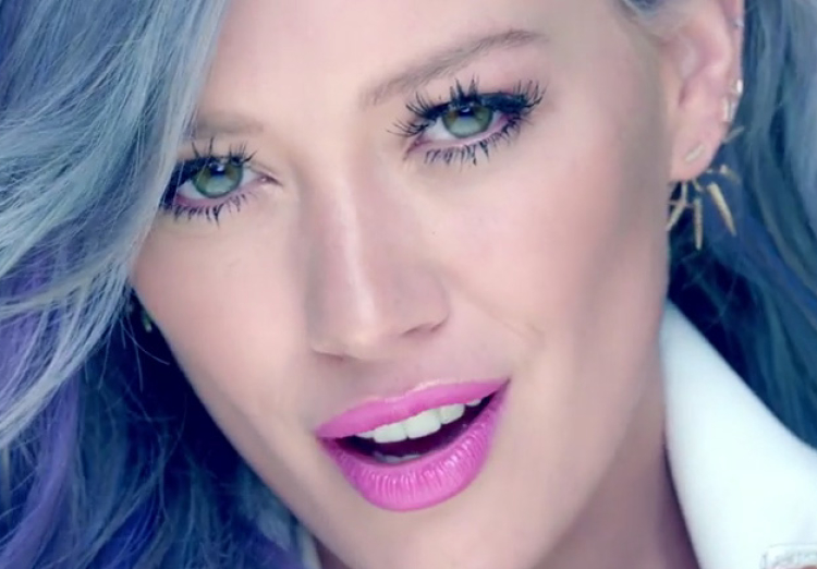 Hilary Duff in Sparks Music Video