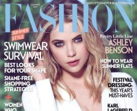 Ashley Benson on Cover of  FASHION Magazine