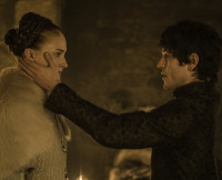 Sansa and Ramsay on Game of Thrones Season 5, Episode 6