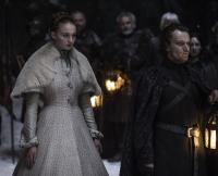 Sansa and Theon on Game of Thrones Season 5, Episode 6