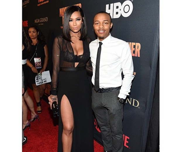 "Erica Mena and Fiancé Shad ""Bow Wow"" Moss"