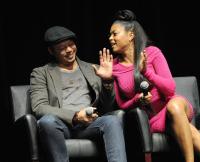 """Terrence Howard and Taraji P. Henson at Fox's """"Empire"""" ATAS Academy Event - Inside"""
