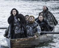 Jon's Boat on Game of Thrones Season 5, Episode 8