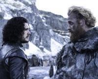 Jon and Tormund on Game of Thrones Season 5, Episo