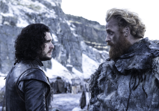 Jon and Tormund on Game of Thrones Season 5, Episo