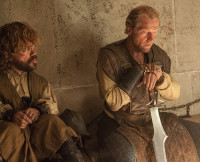 Jorah and Tyrion on Game of Thrones Season 5, Episode 7