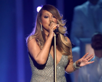 Mariah Carey at the 2015 Billboard Music Awards