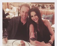 Chris Harrison and Andi Dorfman On Their Date Night
