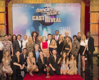 DWTS Season 20 cast during GMA reveal.