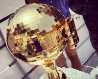 DWTS Season 20 Gold Mirror Ball Trophy