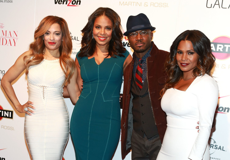 """Taye Diggs, Nia Long, Sanaa Lathan at """"The Best Man Holiday"""""""