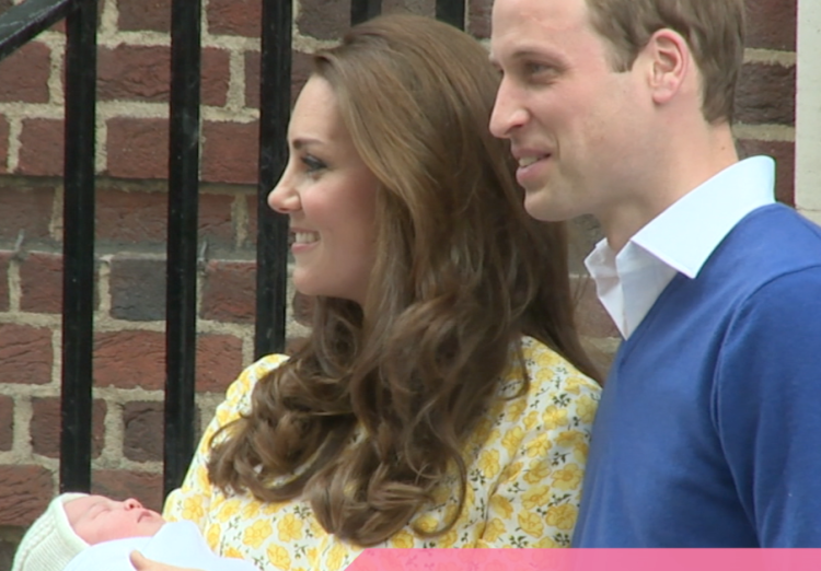Kate, Will, Princess Charlotte