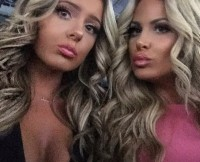 Kim Zolciak and Brielle Biermann Pucker Up For the