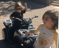 Mason and Penelope Disick