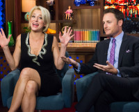 Chris Harrison and Dorinda Medley on Watch What Happens Live