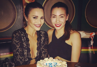 Andi Dorfman and Sharleen Joynt