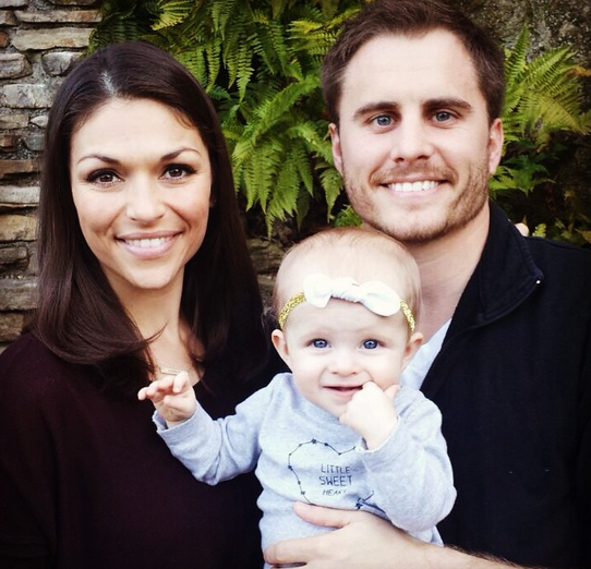 Deanna Pappas, Stephen Stagliano, and Daughter Addison