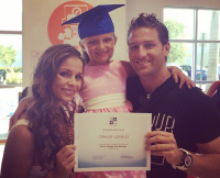Juan Pablo Galavis, Carla Rodriguez, and Daughter Camila
